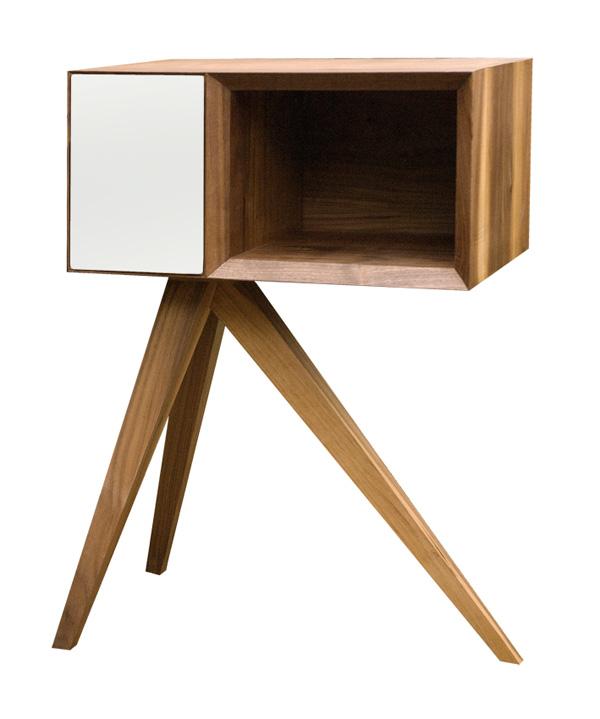 Inacubular   Side Table By Simon Moorhouse