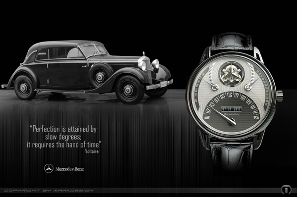 Mercedes 320 Tourbillion Watch by Marko Petrovic