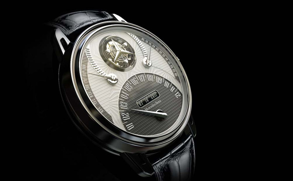Gentlemanly benz watch yanko design for Mercedes benz watches collection