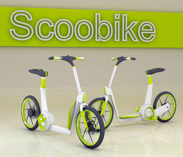 Scoobike - Urban Scooter/Bike by Ardhyaska Amy