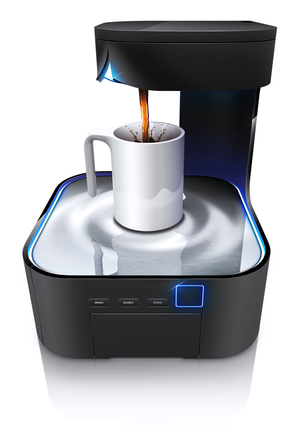 Peel - Coffee Maker by HJC Design