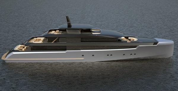 60 M Yacht by Van Geest Design