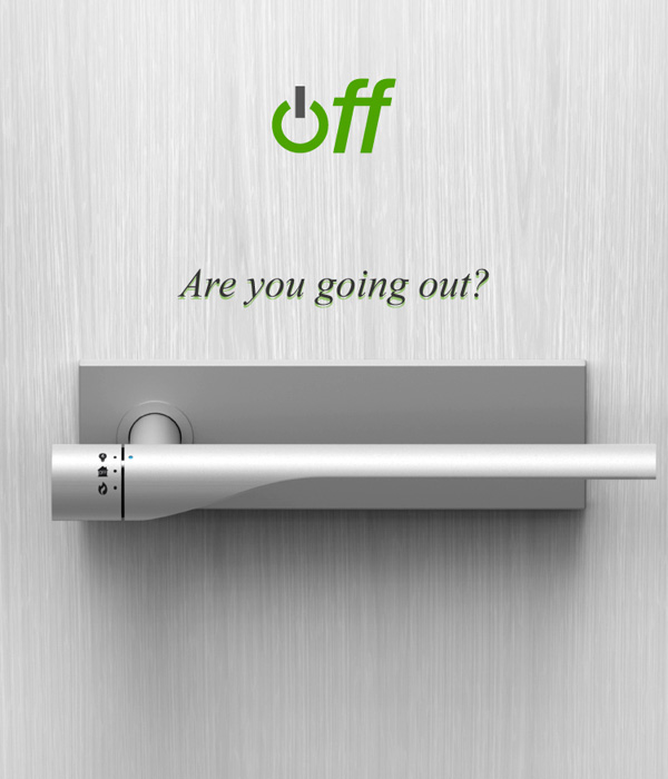 Off - Door Handle Concept by Eun-ah Kim, Jin Hyuk Rho & Maria Rho