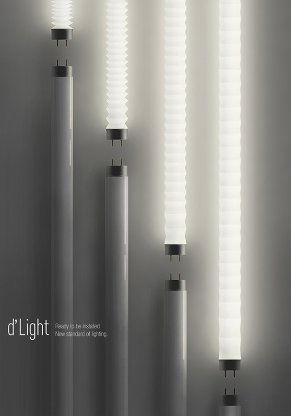 d'Light Tube Light by h_design