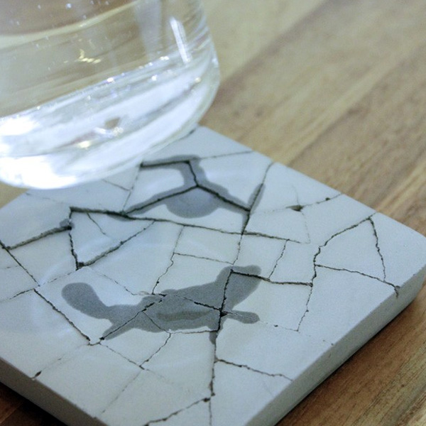 Water Absorbent Coaster by Kalki'd at Yanko Design Store