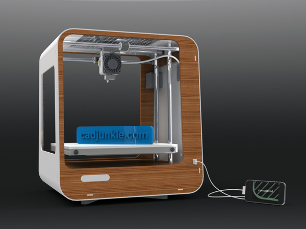 Domestic 3d printing yanko design 3d printer design software