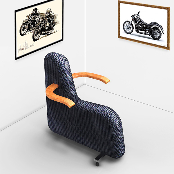 Biker Chair by Jang Woo-seok