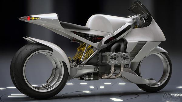 FB R200S - Motorcycle Concept by Miroslav Hundak
