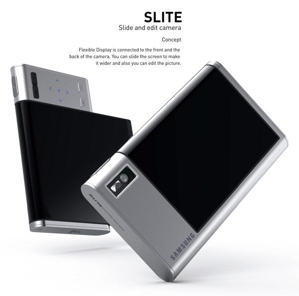 Samsung Slite - Concept Camera by Binna Kim