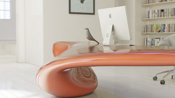 Volna - Table by Nuvist