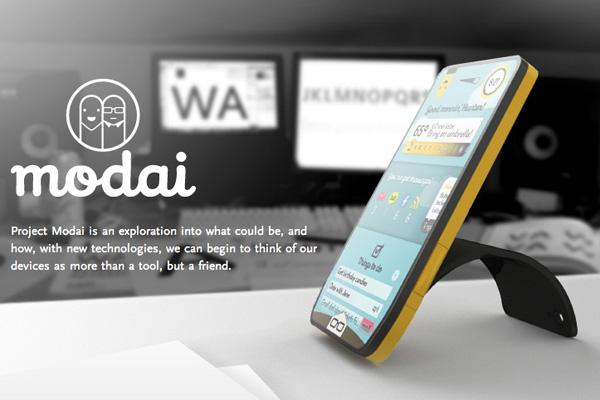 Modai – Concept Modular Phone by Julius Tarng