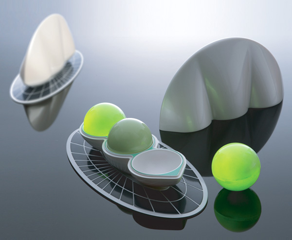 Fully Precious Beans - Solar Light Balls by Yang Wonmo