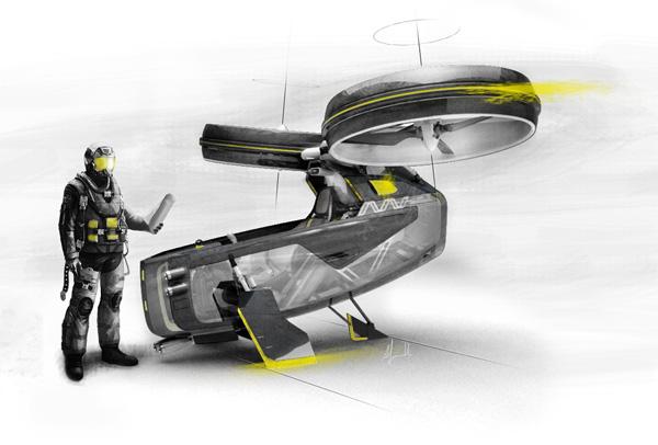Urban jungle aircraft yanko design for Industrial design news