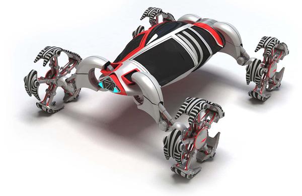 U-Wall Lizard - Concept Vehicle by Zhi Min Lin