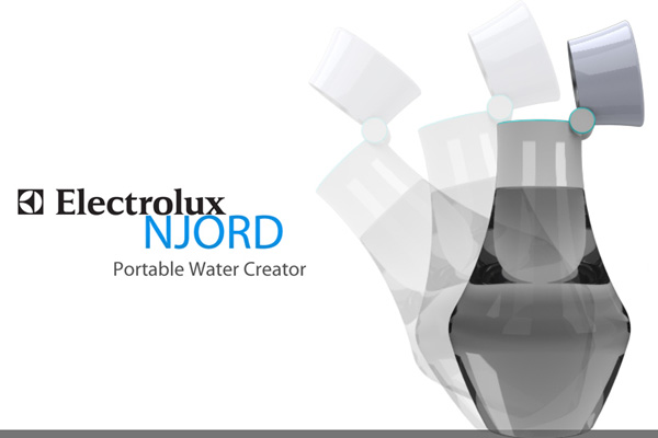 Njord - Portable Water Condenser by Reymin De Leon