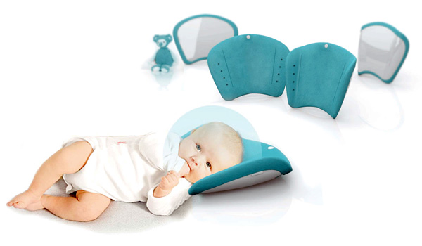 Cocoon  - Baby Pillow by Elodie Delassus