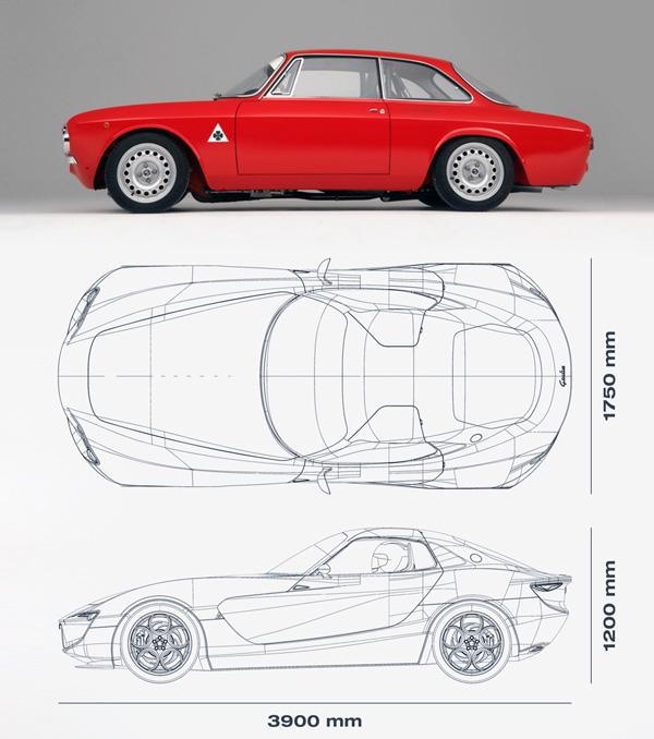 Alfa Romeo Alfa Giulia - Concept Car by Vincent Montreuil