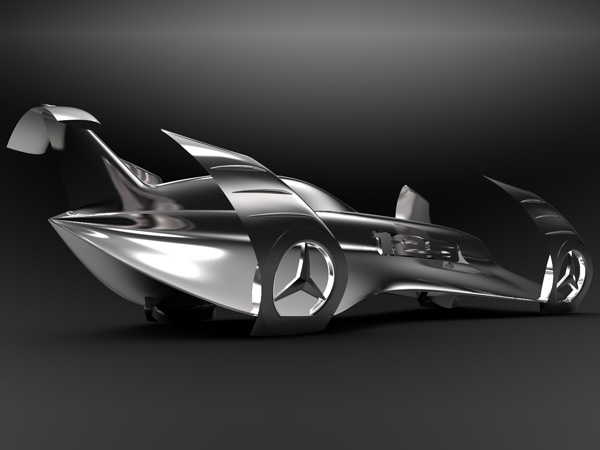 Mercedes History - Concept Car by Peter Vardai