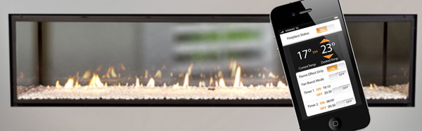 DX1500 - WiFi Fireplace by Escea