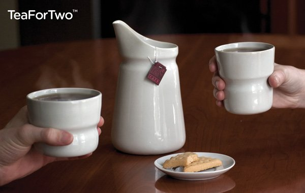 TeaForTwo - Tea Set by David Pickett