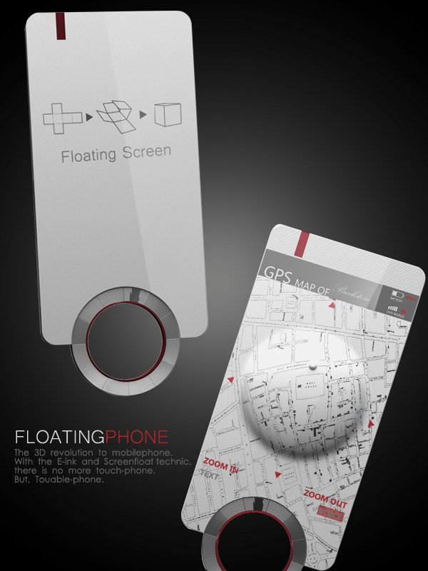 Floating Phone by Messizon Li, Yang Fan, Linghan Liu, Li Ke, Pengcheng An, Yunlong Zhu & Zhangxia Ruan