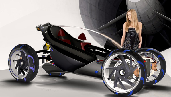 BMW Tandem - Concept Car by Simone Madella