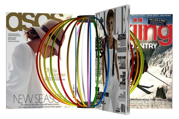 Magazine Globe by Niels Kjeldsen