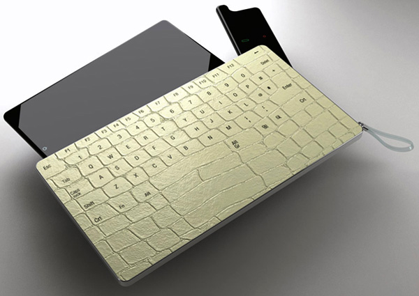 PC Digital Skin Tablet Keyboard and Cover Concept by Sono Mocci