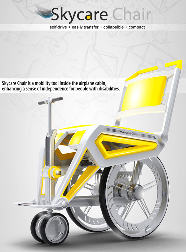 Skycare - Wheelchair by Brian Liang
