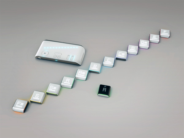 Blu - Musical Keyboard Instrument by Eric Pautz