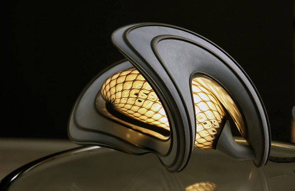 Cocoon Lamp by Voxel Studio