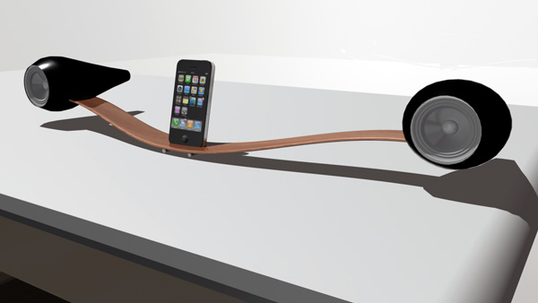 Glide - iPod Docking Station by Matthew Hicks
