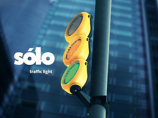 Sólo Project – Modular Traffic Signal by Matheus de Luca, Moreira Pinto & Porto Alegre