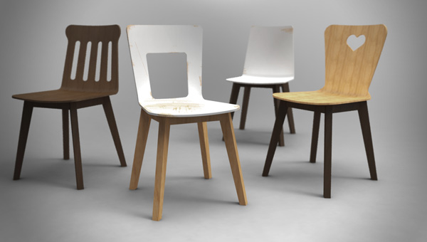 Berlin Chaos Chairs by EWID