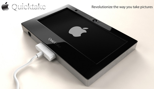 Apple QuickTake – Concept Camera by Joseph Dumary