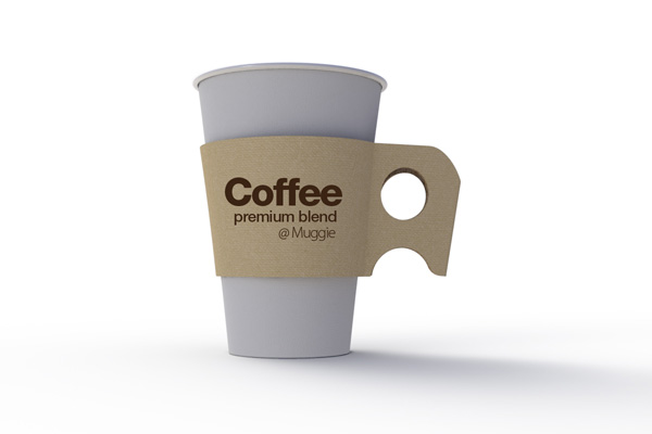 Muggie - Coffee Sleeve by Kyu Seop Lee