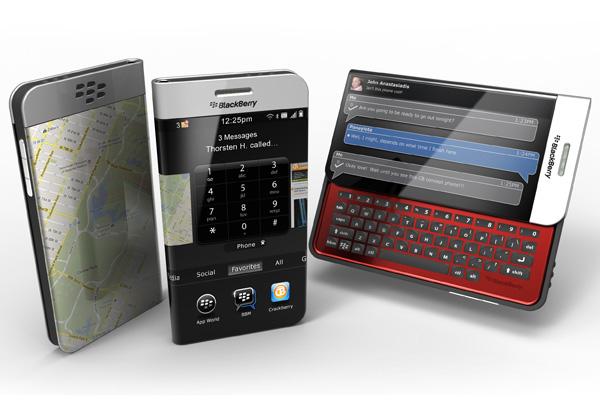 BlackBerry Concept Phone by John Anastasiadis