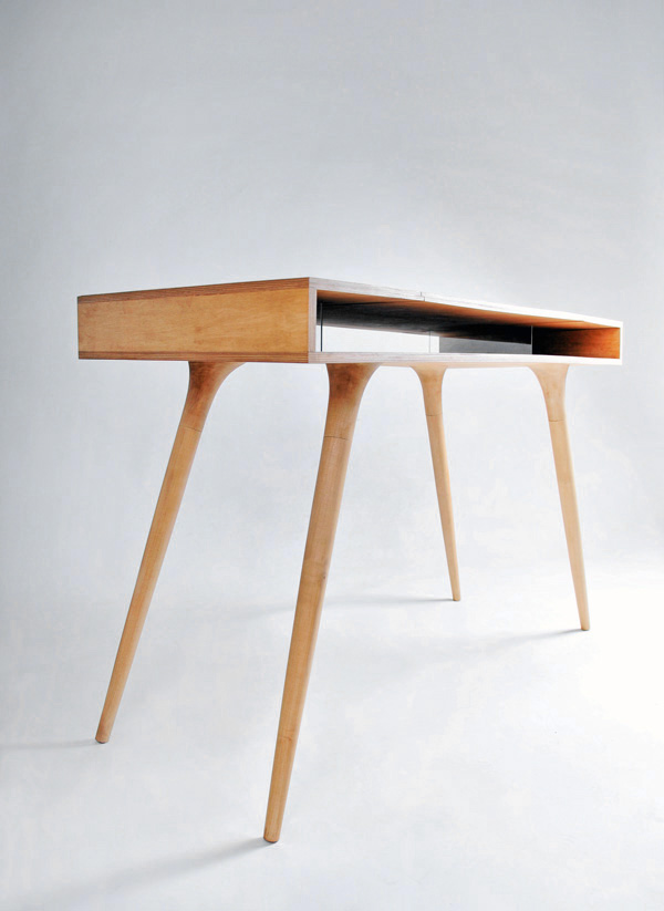 Wooden Desk by Shpelyk Roman