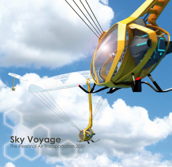 Sky Voyage - Air Transporation by Jet Shao