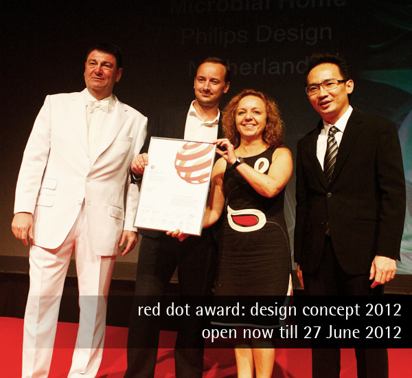 red dot design concept 2012 - Call For Entries