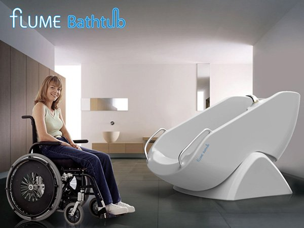 Flume Bathtub For The Wheelchair Bound by Kim Jung Su, Yoon Ji Soo & Kim Dong Hwan