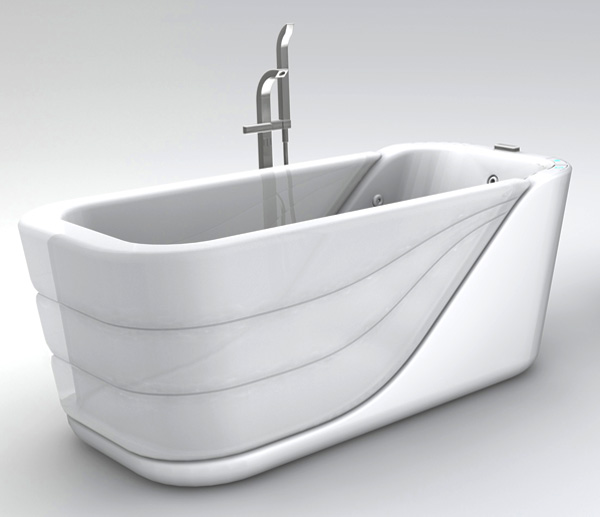 Inflatable Bathtub by Su Pin