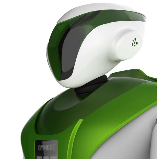 Gymbot - Exercise Robot by Massimo Battaglia