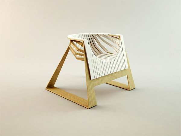 Melon Chair by Veronica Belous