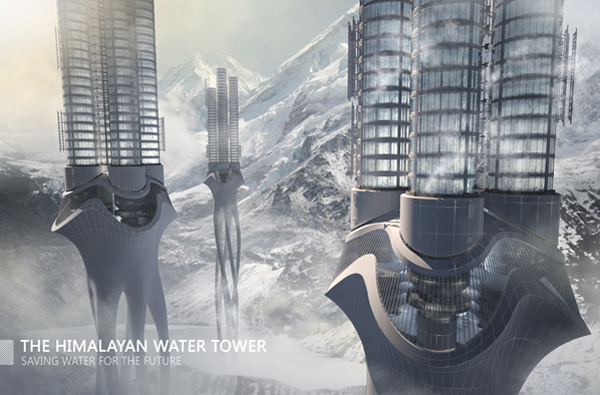 Himalaya Water Tower by Zhi Zheng, Hongchuan Zhao & Dongbai Song