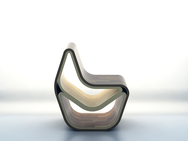GVAL - Chair by Vanesa Moreno, Gustavo Reboredo, Louis Sicard & Nenad Katic