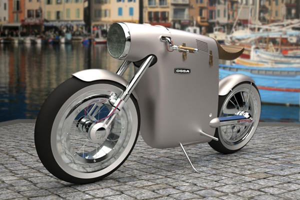 Monocasco Concept Bike by ART-TIC Team