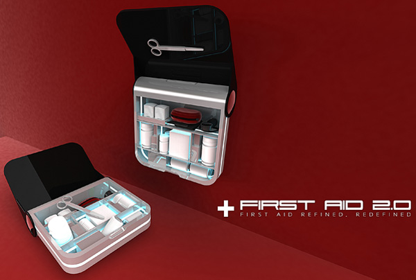 First Aid 2.0 – First Aid Kit by Pow Ying Hern