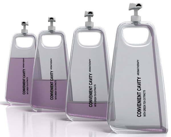Convenient Cavity – Shampoo Dispenser Bottle Redesign by Bao Haimo, Piao Hailong, Liu Yuancheng, Miao Pengpeng & Xu Kun
