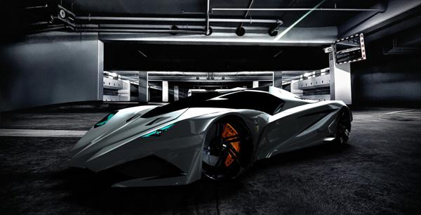 Design Concept Car – Konsept Araba tasarımları – Lamborghini devil – iblis